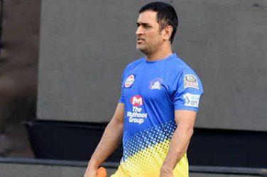 Dhoni starts training at Chepauk ahead of IPL