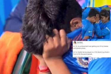 'Come Back Stronger': Cricket Fans Console Sobbing Shafali Verma After T20 World Cup Defeat