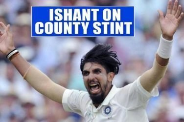 Ishant Sharma Reveals How County Cricket Helped Him Discover His Strength As A Pacer