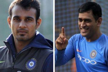 Siddarth Kaul names the three greatest finishers in international cricket