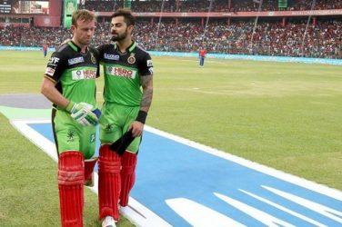 Covid-19: Virat Kohli, AB de Villiers to auction cricket gear from 'special' IPL match