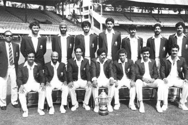 1983 India Cricket Team