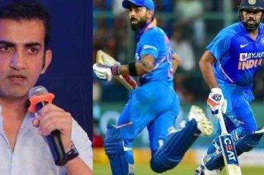 Gautam Gambhir rates Rohit Sharma above Virat Kohli in white-ball cricket
