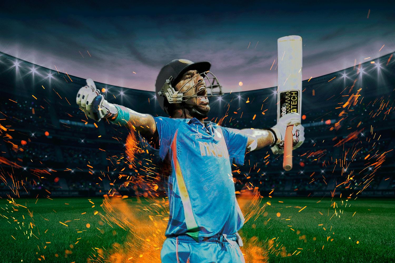 yuvraj singh playing for India