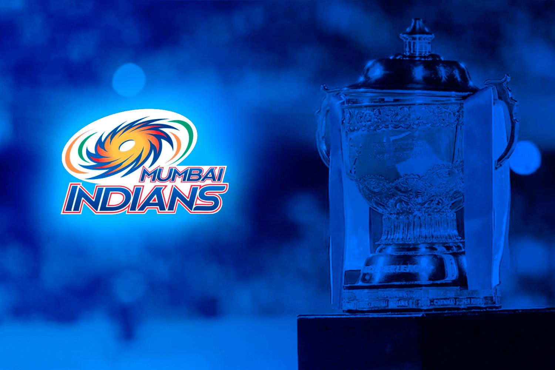 indian premier league 2020 trophy for mumbai indians