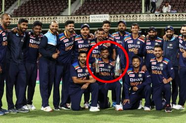 Cricket world erupts over hidden meaning in team photo